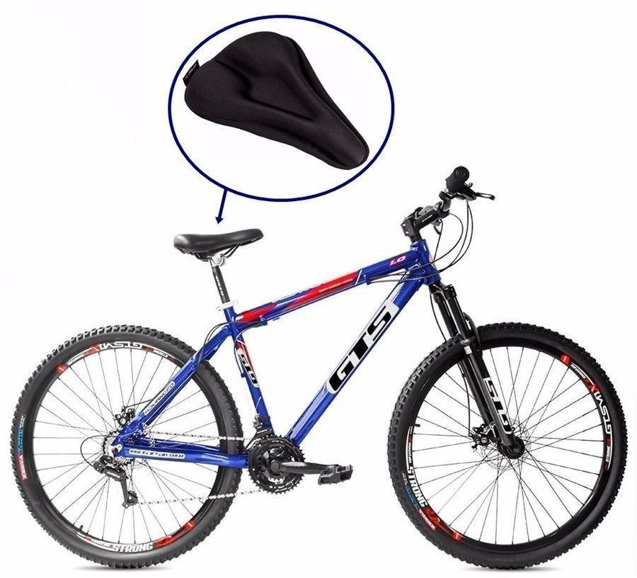 Capa De Banco Gel Pra Banco Selim Bike Bicicleta Atrio Bi013