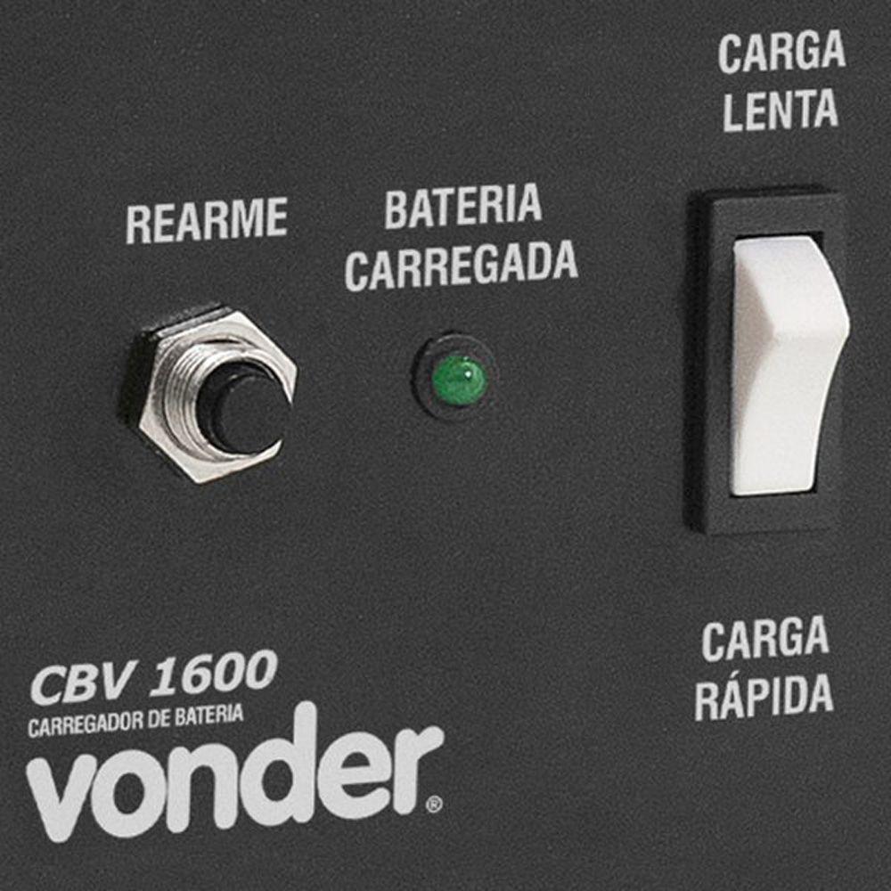 Carregador de Bateria CBV 1600 220V Vonder