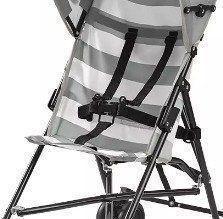 Carrinho Bebe Guarda-chuva Navy Multikids Baby Cinza Bb513