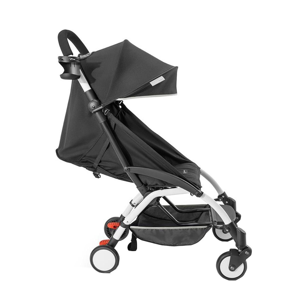 Carrinho de Bebê Compacto Multikids Preto Até 15Kg