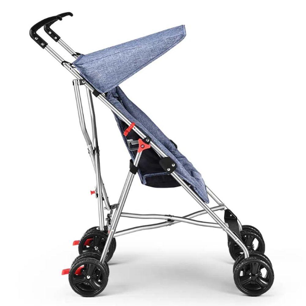 Carrinho De Bebê Guarda-chuva Pocket Azul Multikids Bb501