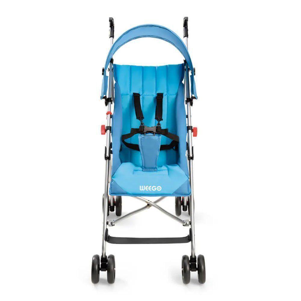 Carrinho de Bebê Guarda-Chuva Way Weego Azul BB507