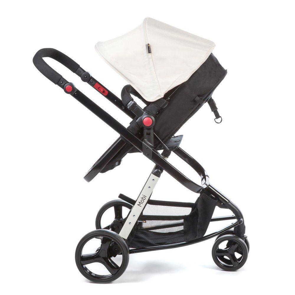 Carrinho de Bebê Travel 3 Rodas System Mobi Plain Beige