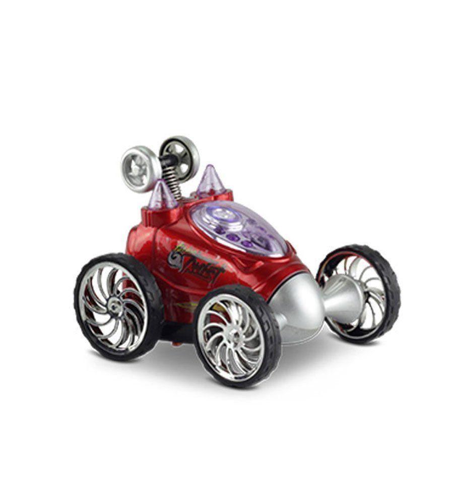 Carrinho de Controle Remoto Turbo Twist Vermelho 4888 Dtc