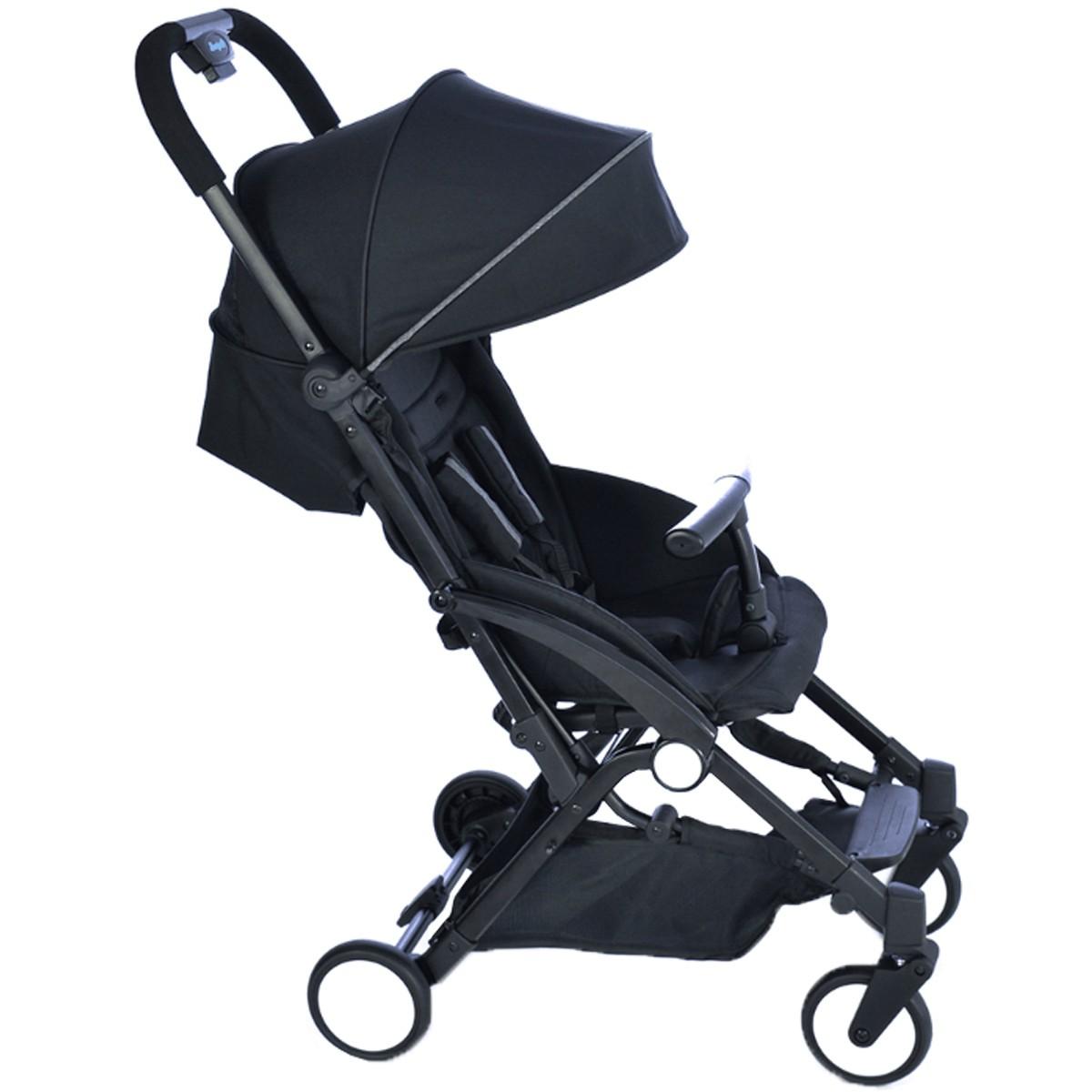 Carrinho De Passeio Compacto Para Bebê Up Burigotto Preto