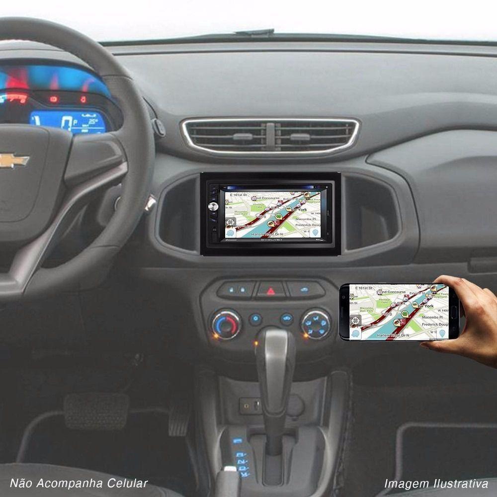 Dvd Multilaser Evolve+ 6,2 Tv Digital Gps Bluetooth Radio usb GP043
