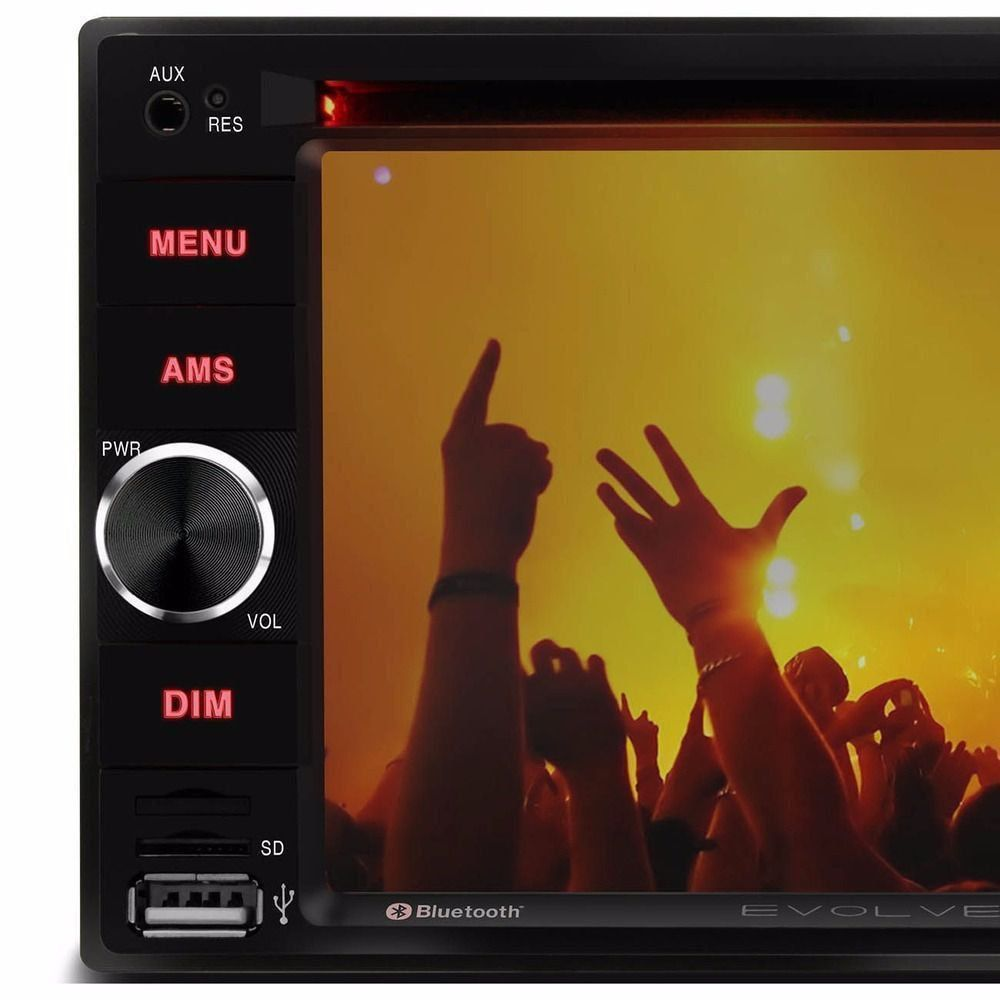 Dvd Automotivo 2 Din 6,2 Usb Bluetooth Espelhamento Android P3321