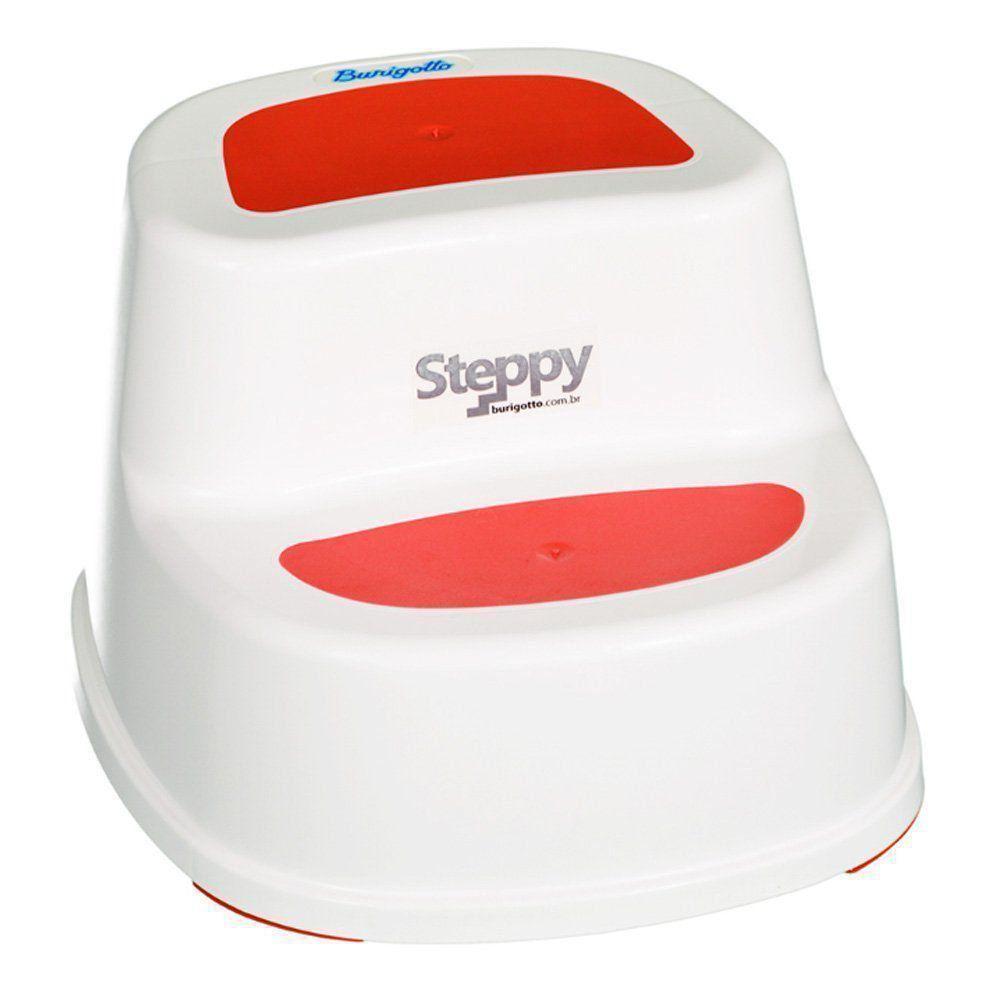 Degrau Steppy 2 em 1 Vermelho Burigotto IXAP0358BR03