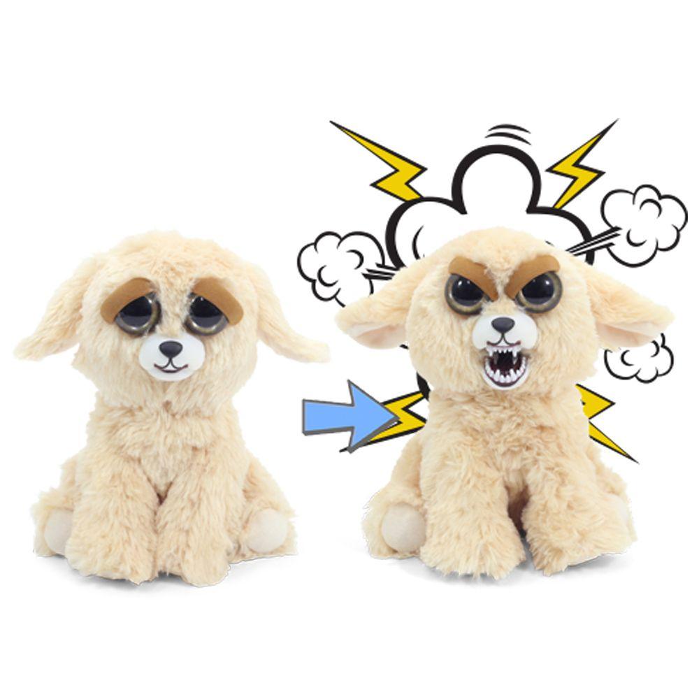 Feisty Pets Pelúcia Cachorro Luna Lúnatica Mal Humorada Dtc