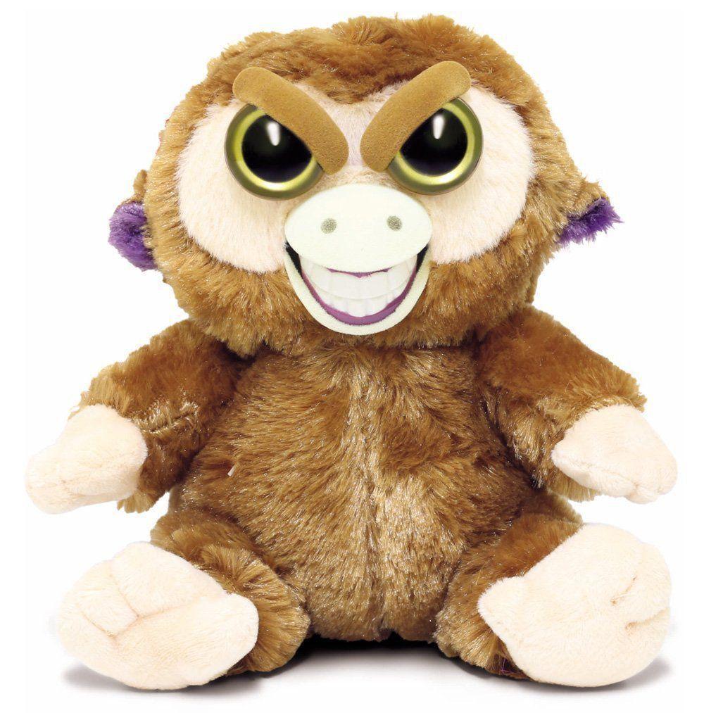 Feisty Pets Pelúcia Mico Mequetrefe Macaco Mal Humorado Dtc