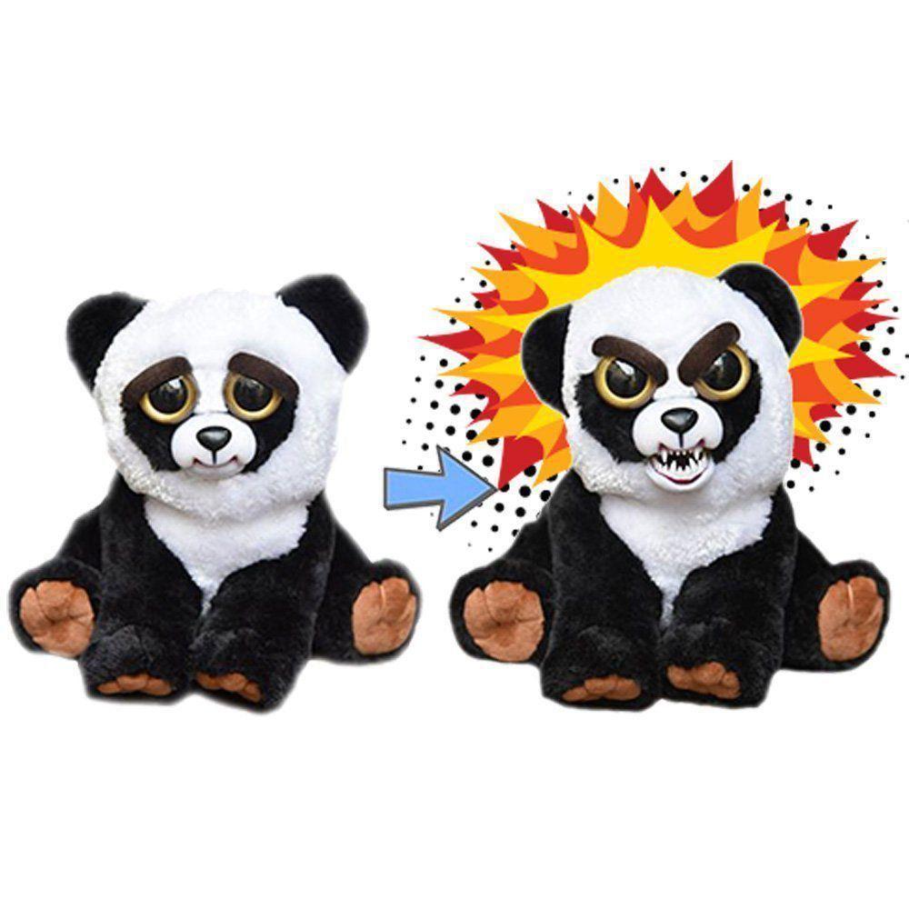 Feisty Pets Pelúcia Nico Nocaute Panda Mal Humorado Dtc