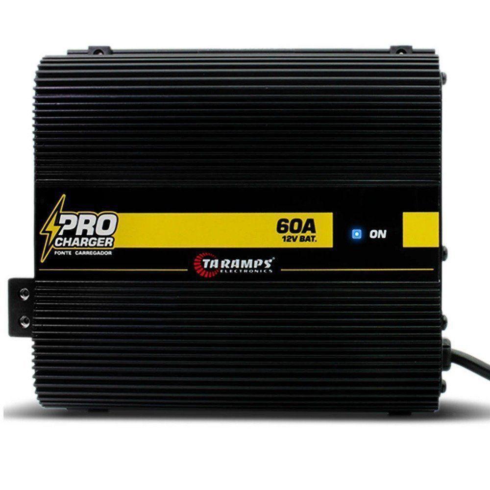 Fonte de Alimentação Automotiva Taramps Pro Charger 60A Bivolt Automático