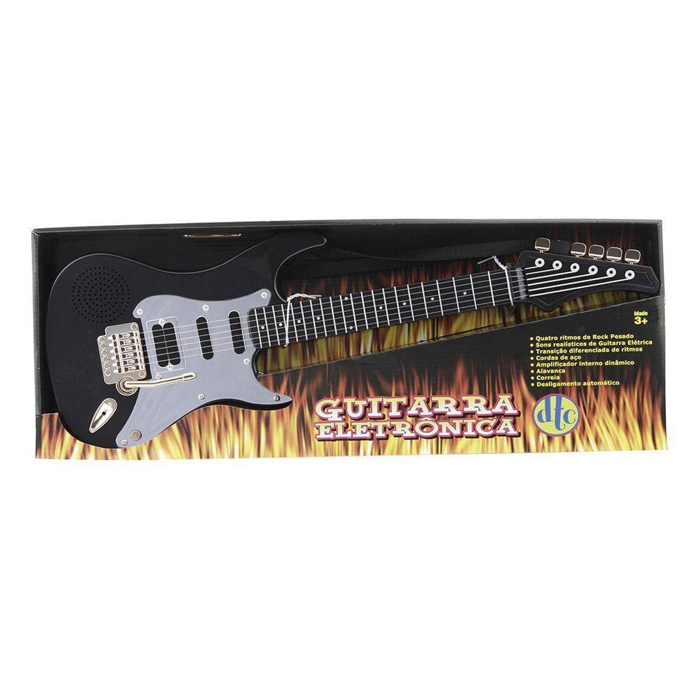 Guitarra Eletrônica Preto DTC