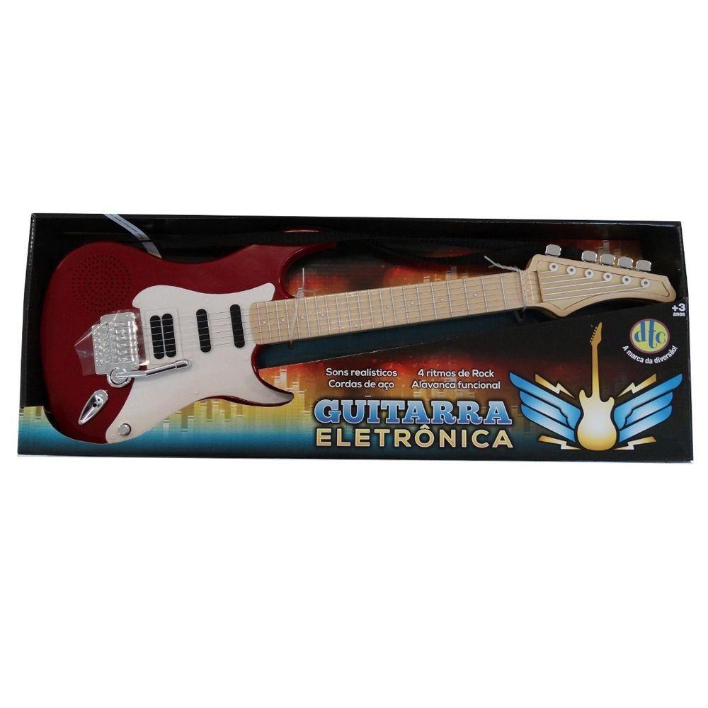 Guitarra Eletrônica Vermelha DTC