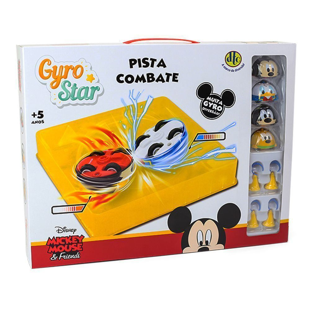 Gyro Star Pista De Combate Arena Disney Pixar Dtc 4916