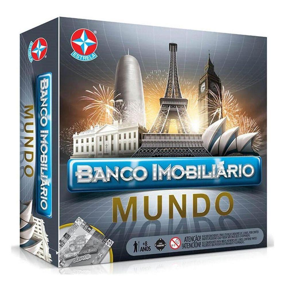 Jogo Banco Imobiliário Mundo - Estrela