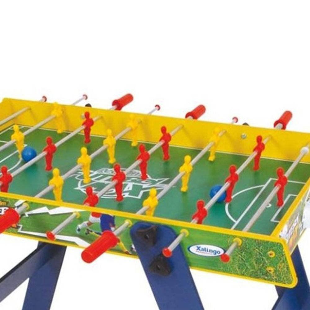 Jogo Pebolim Futebol Max com Pés Removíveis 67065 Xalingo