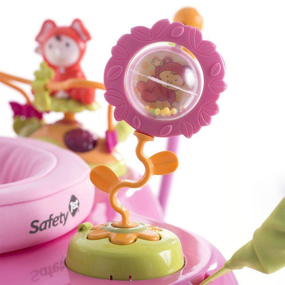 Jumper Bebê Play Time Pink Assento Giratório Com Luz E Sons Safety 1st IMP91304