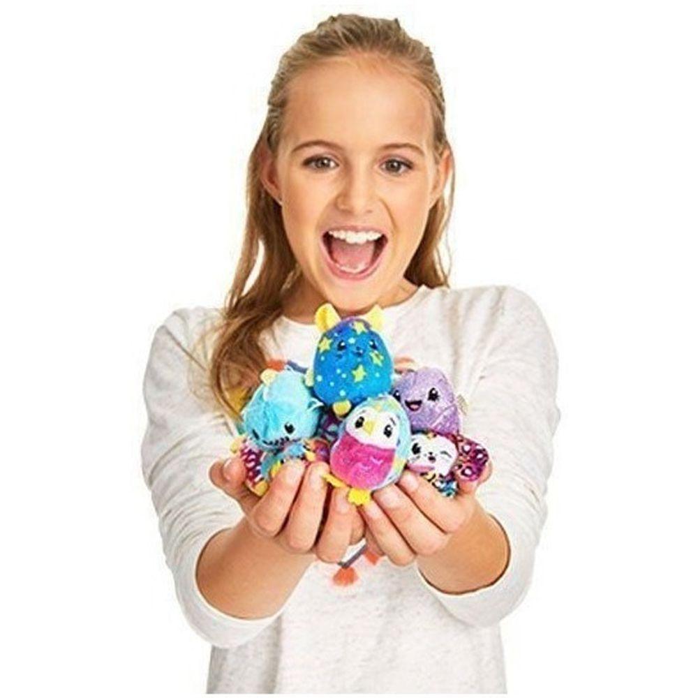 Kit 10 Peças Pelúcia com cheirinho dos personagens Pikmi Pops Brinquedo Surpresa