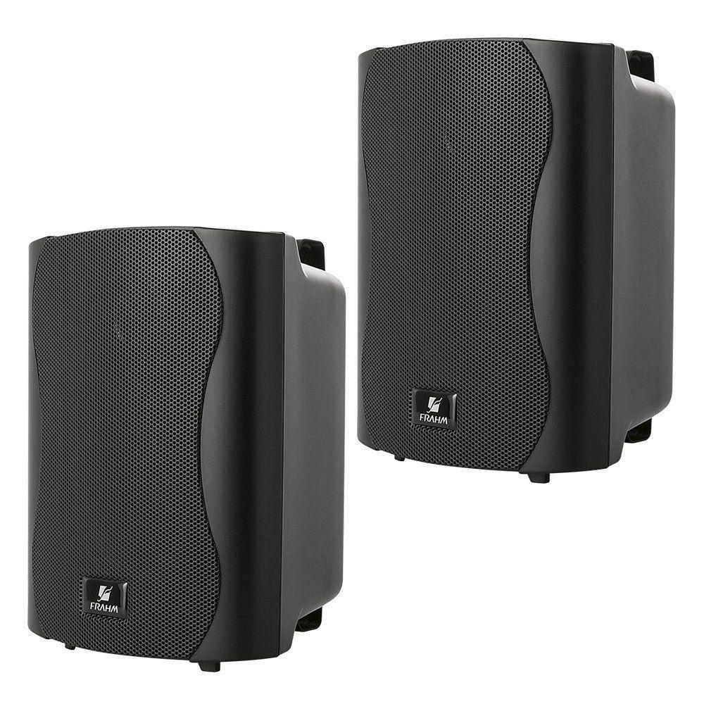 Kit 2 Pares De Caixas Acústicas Frahm Ps5 Plus Preta