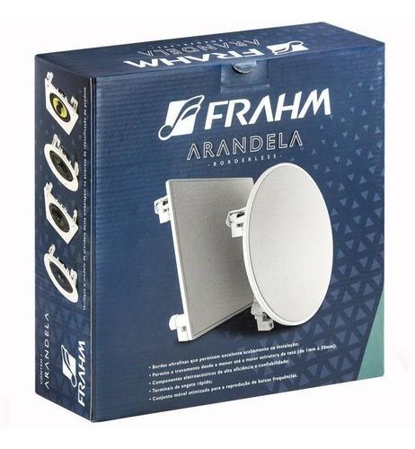 """Kit 4 Arandela Quadrada 6"""" Full Range Borderless 40W RMS Frahm"""
