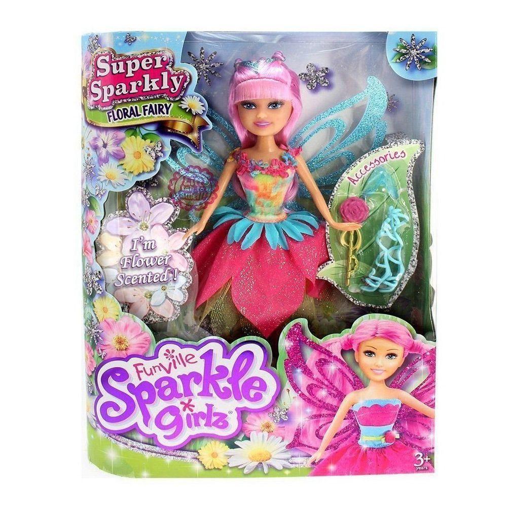 Kit Bonecas Sparkle Girlz Fadas Bianca Carla Dalila e Lili DTC 4804