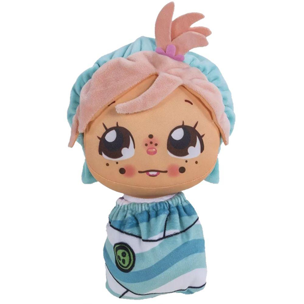Kit Bonecos Flipkins Ana/Lucas/Guga Mais 3 Cutie Pet Flipe 4732 Dtc