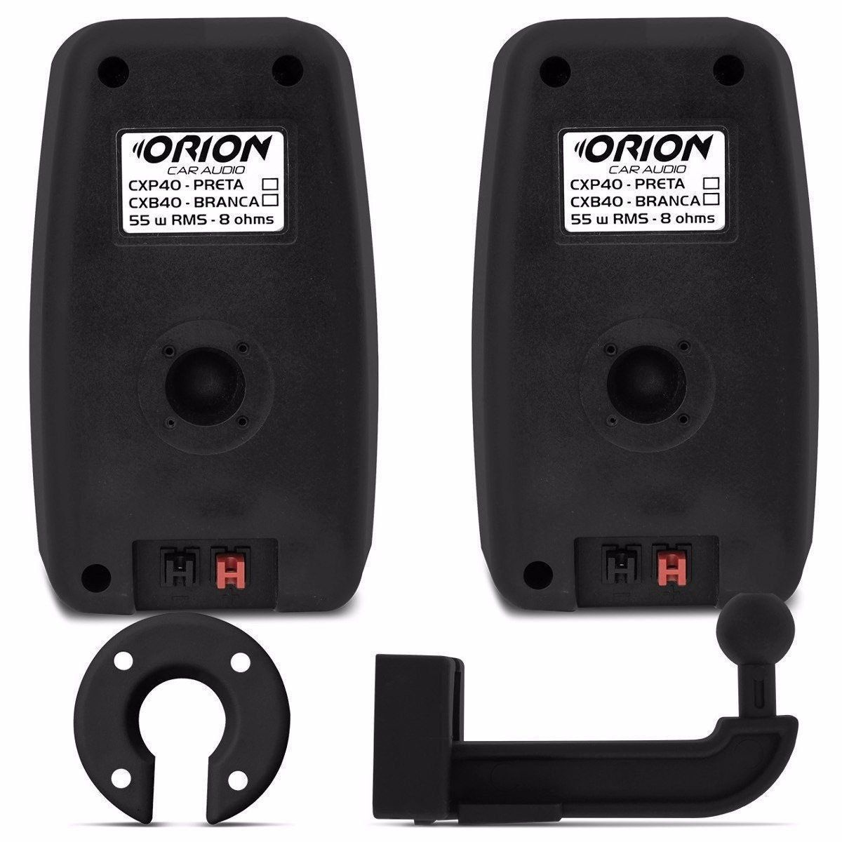 Kit Caixas Som Ambiente Tsr Orion Cbx40 8 Ohms 110w Preta