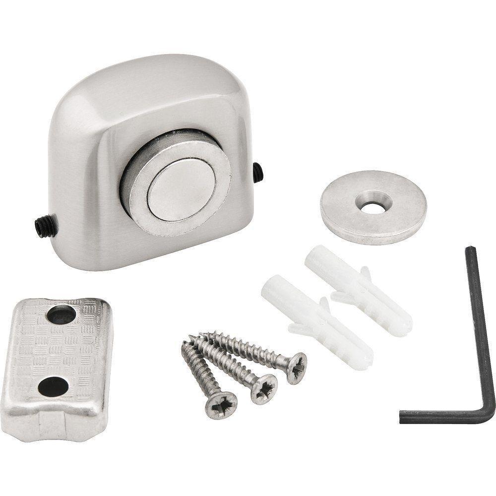 Kit com 8 Fixadores Prendedor De Porta Magnético Vonder Com Mola