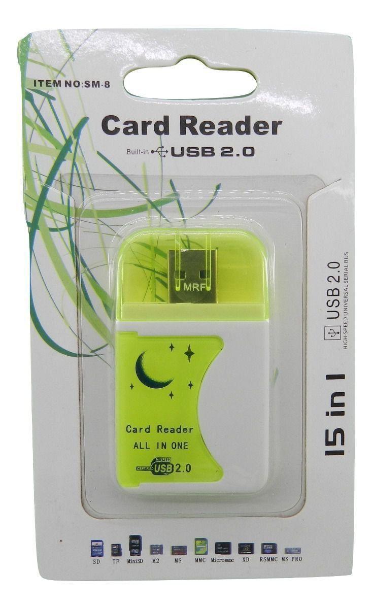 kit de Adaptadores para Cartão de Memória Com 10 unidades