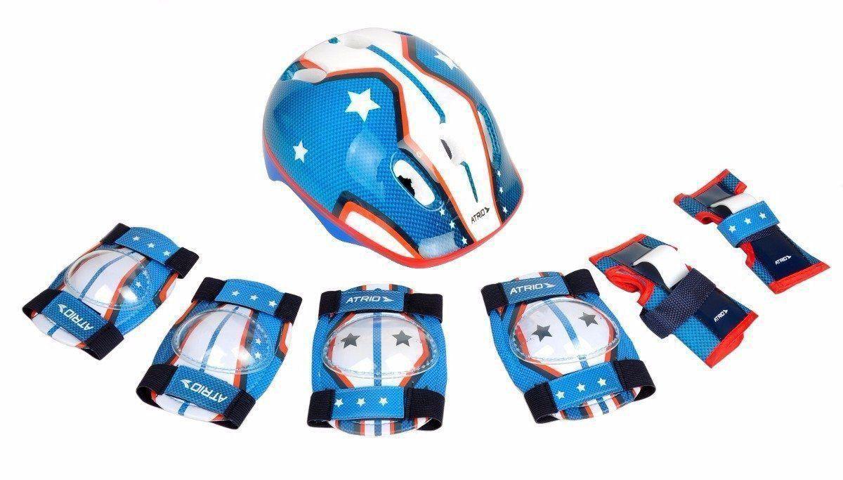 Kit De Proteção Infantil Multilaser Atrio Masculino - Es104