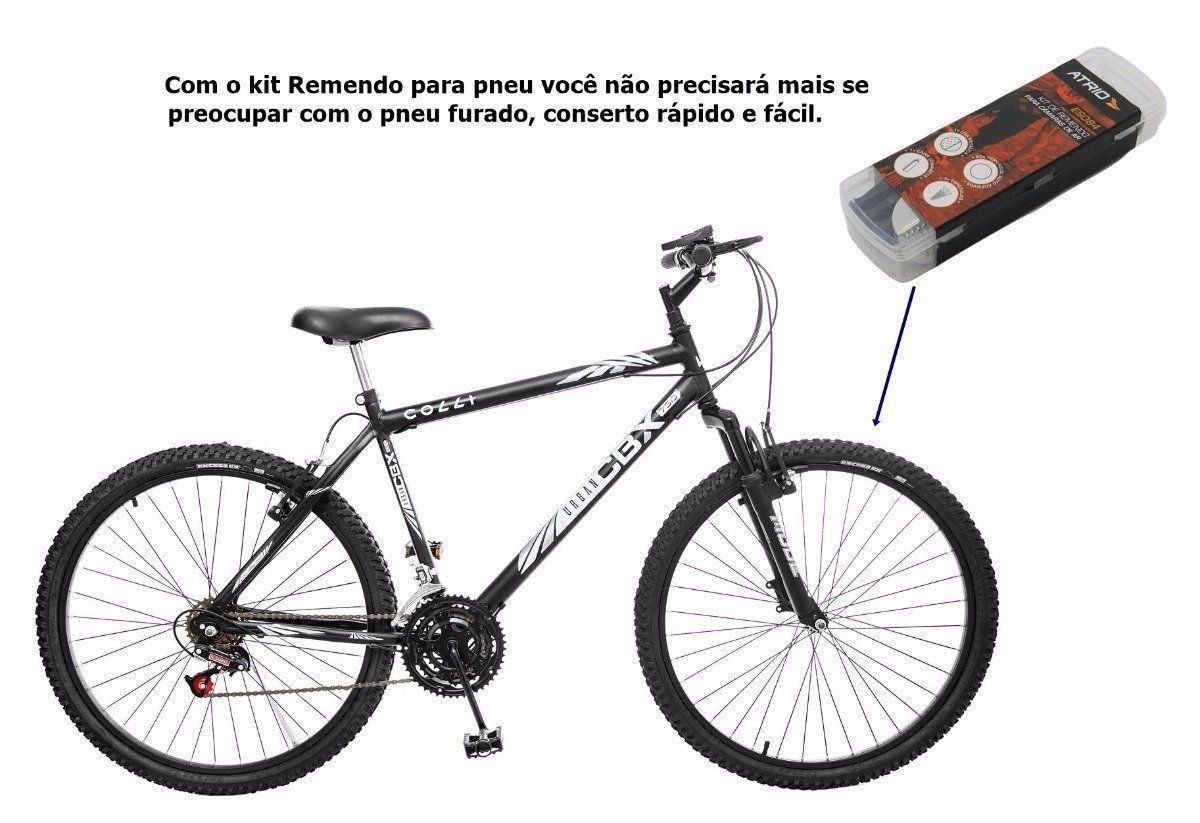 Kit De Remendo Para Camaras De Ar De Bicicletas Atrio Bi084