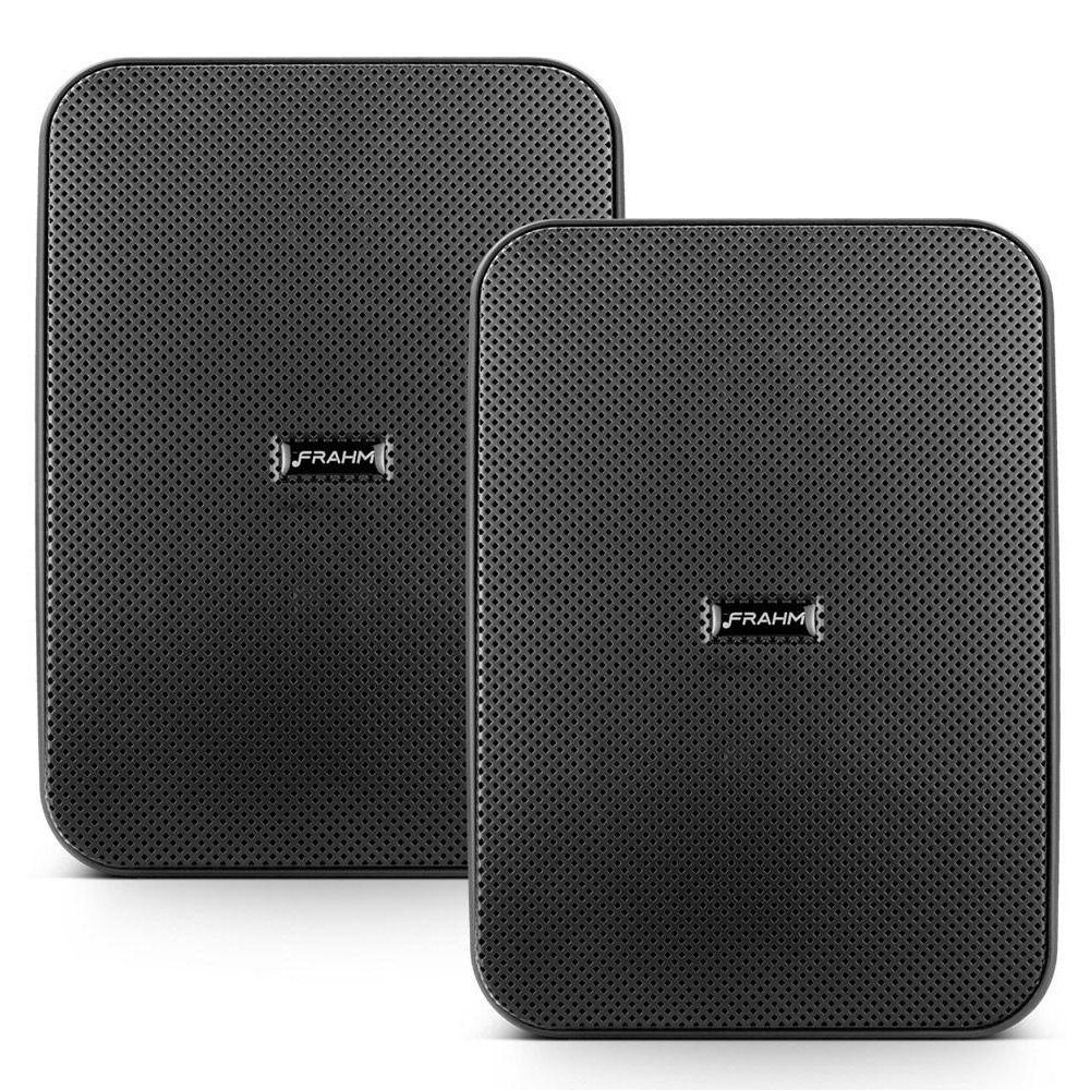 "Kit Receiver Slim 3700App G2 + 6 Caixa Passiva HSL 6"" Preto 4200w"