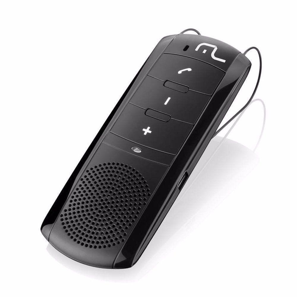 Kit Viva Voz Bluetooth Preto Multilaser AU201