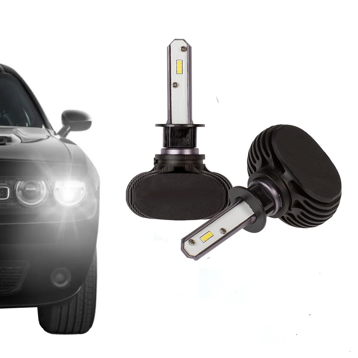 Lampada Led 2D Carro H8 6000K 12V-24V 32W Headlight