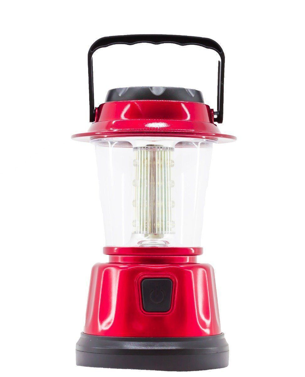Lampião Luminaria Led Eletrico Bivouac Light Pilha Camping Azul