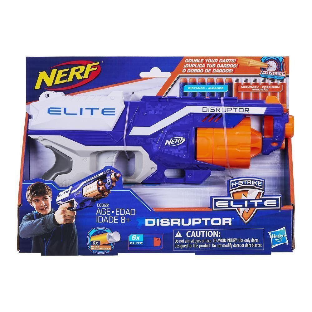 Lançador Dardos Nerf N-Strike Elite Disruptor E0392