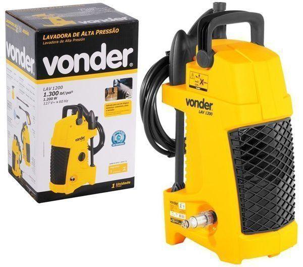 Lavadora Lava-jato Vonder 127V 1300 Libras com Kit Acessórios