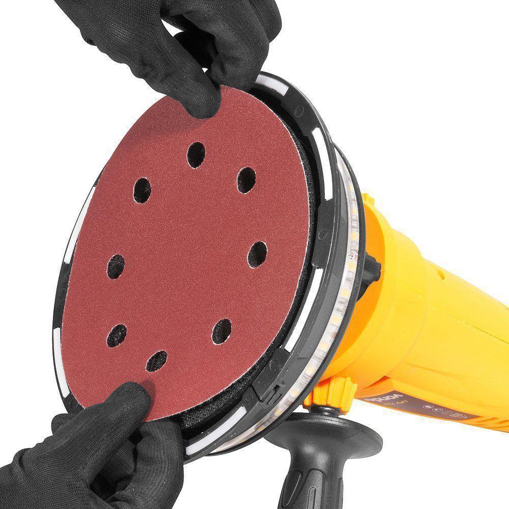 Lixadeira para Lixar Parede Com Led 220V LPV 750 Vonder
