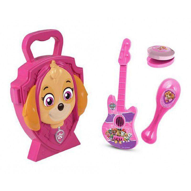 Maleta Patrulha Canina Kit Musical Da Skye Dtc 4618