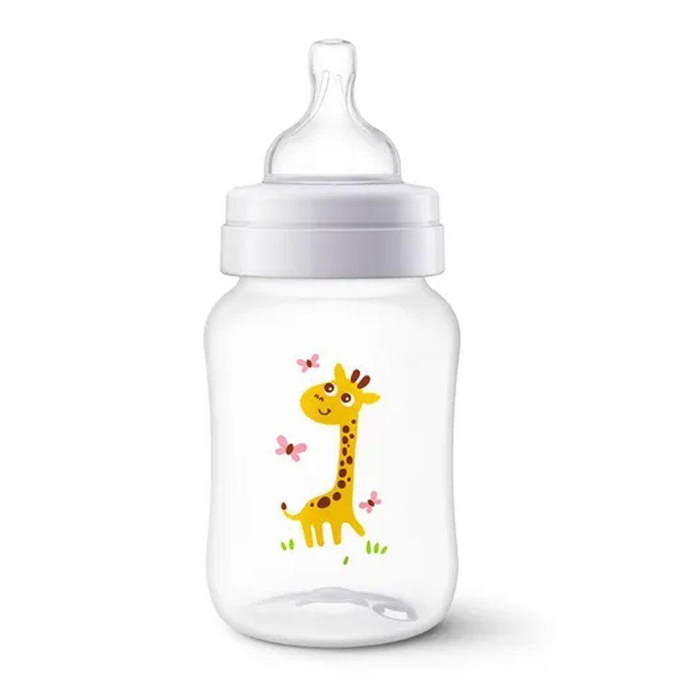 Mamadeira Bebê Anti-colic Classic Girafa 260ml Philips Avent SCF821/12