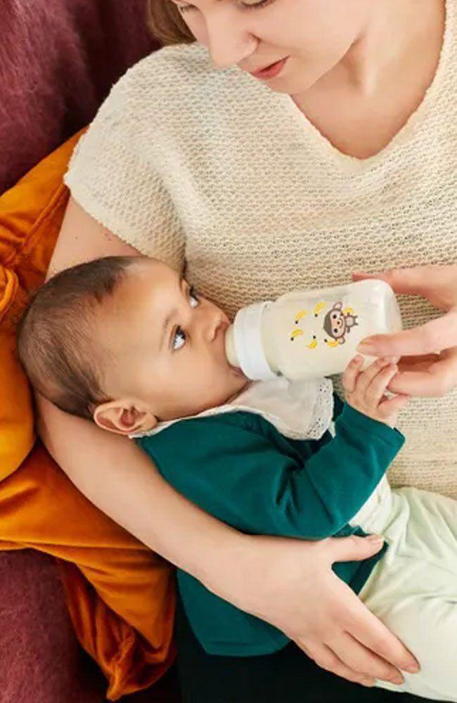 Mamadeira Bebê Anti-colic Classic Macaco 260ml Philips Avent SCF821/11