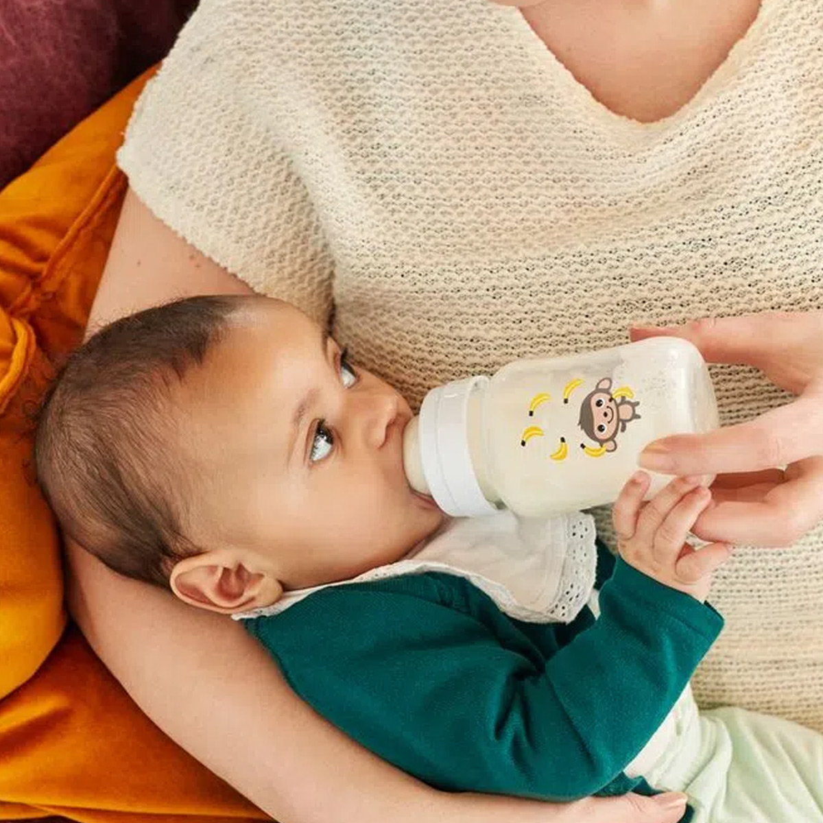 Mamadeira Avent Antivazamento Bebê Anti-colica Tam 2 260ml Philips Classic Macaco