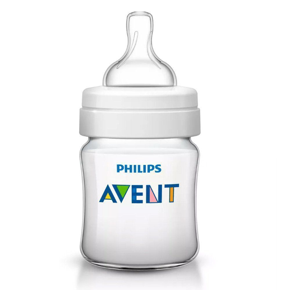 Mamadeira Classica 4oz 0m+ Philips Avent 125Ml