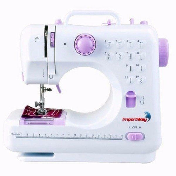 Máquina de Costura Portatil Multifuncional Importway