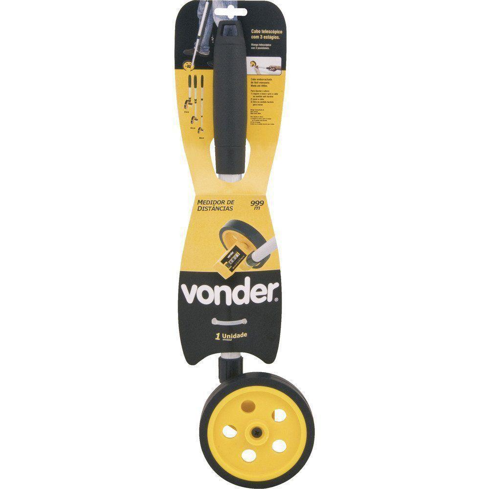 Medidor E Totalizador De Distancia 999,9 Mts Vonder Com Roda