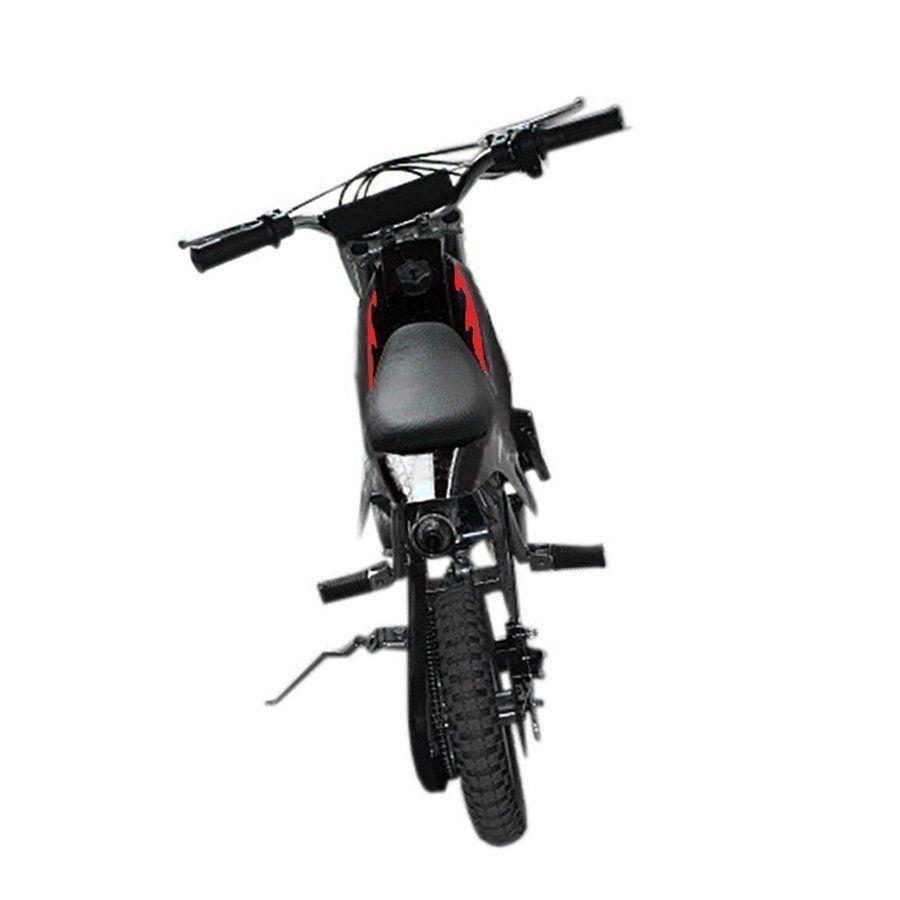 Mini Moto Criança Infantil Cross 49cc 2tempo Gasolina Preta