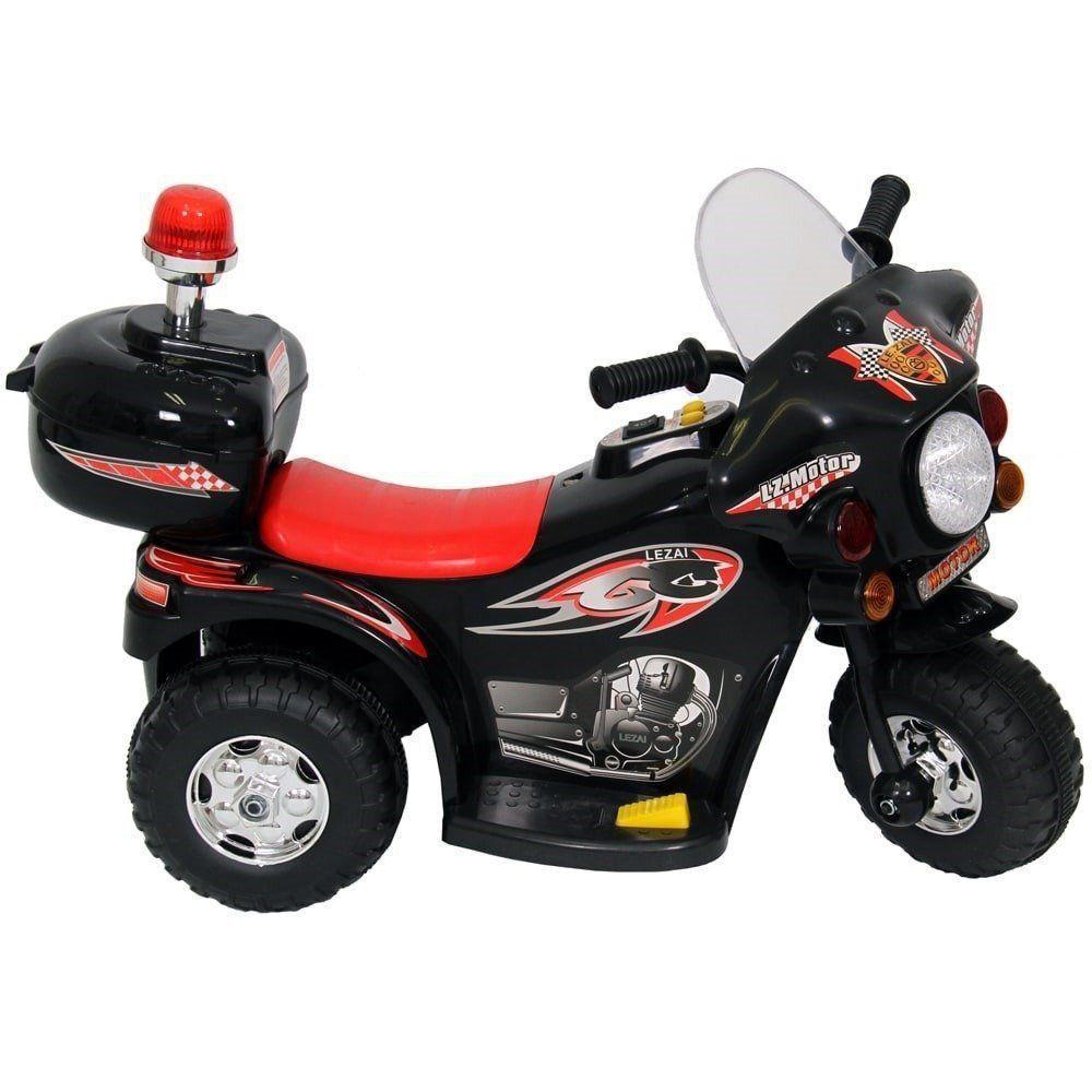 Mini Moto Infantil Elétrica Importway BW002-P Preta
