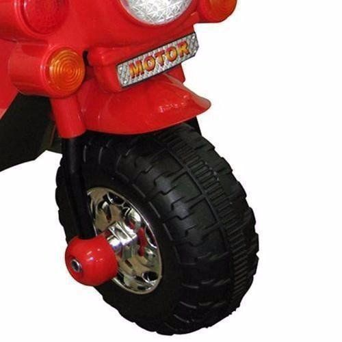 Mini Moto Infantil Elétrica Importway BW002-V Vermelha