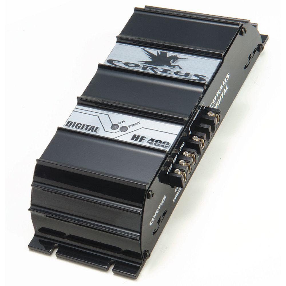 Módulo de Potência Corzus Amplificador HF400 Digital 400Wrms 1Canal